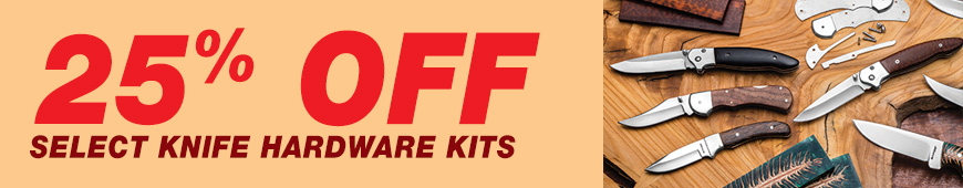 Save on Select Knife Hardware Kits